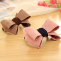 Elegant Bow Bowknot Rubber Bands for Girls Elastic Hair Bands for Women Headwear Hair Accessories