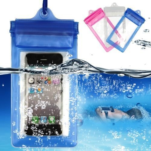 Transparent PVC Waterproof Phone Cases Cover For iphone 6 iphone 5 4 Galaxy S6 S5 S4 Note 2 3(China (Mainland))