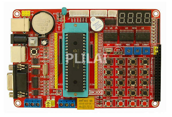 5 Pcs/Lot PIC16F877A PIC Development Board programmer BK300(China (Mainland))