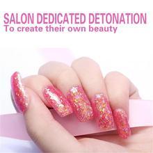 12 Colors Optional 1PCS retail Hot Sale Nail UV Gel Color For Nail Art Decoration Sequin