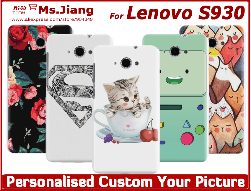 Matte Plastic hard cover Hard Case Cover for Lenovo S930 MTK6582 Quad Core,Free Shipping(China (Mainland))