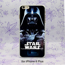 Darth Vader Star Wars Video Design hard White Skin Case Cover iPhone 4 4s 4g 5 5s 5c 6 6s Plus - Yomic store