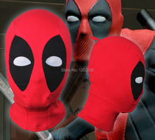 New us Deadpool masques JLA Balaclava Halloween Cosplay Costume X - hommes chapeaux chapeaux flèche Deathstroke côtes tissus masque complet(China (Mainland))