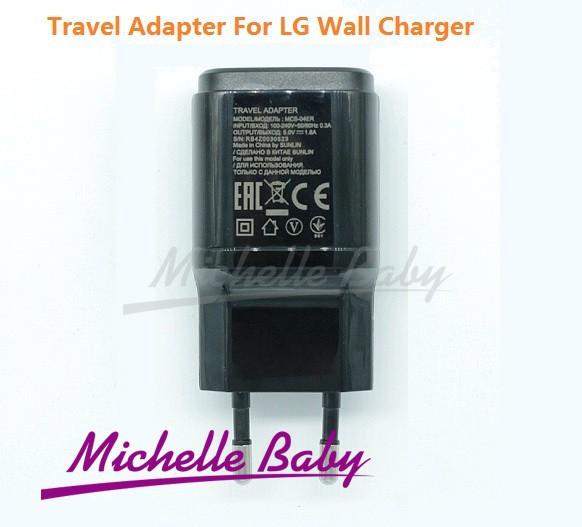 Originele mobiele reislader 5v 1.8a e. U enkele poort acculader carregador met micro usb kabel voor lg g2 mini g3 nexus 5(China (Mainland))