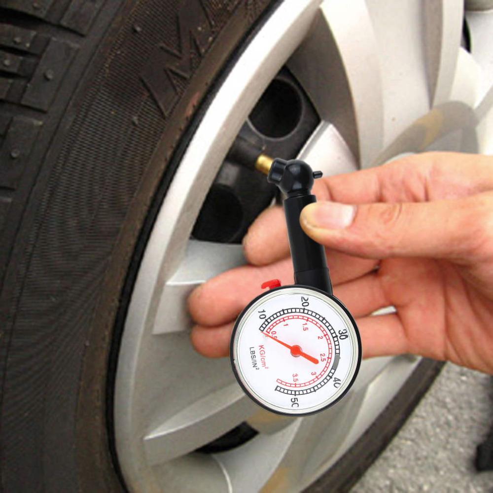 New Car Motor Bike Dial Tire Air Pressure Gauge Meter High Precision Car Tyre Pressure Measurement for Car Diagnostic Tools(China (Mainland))