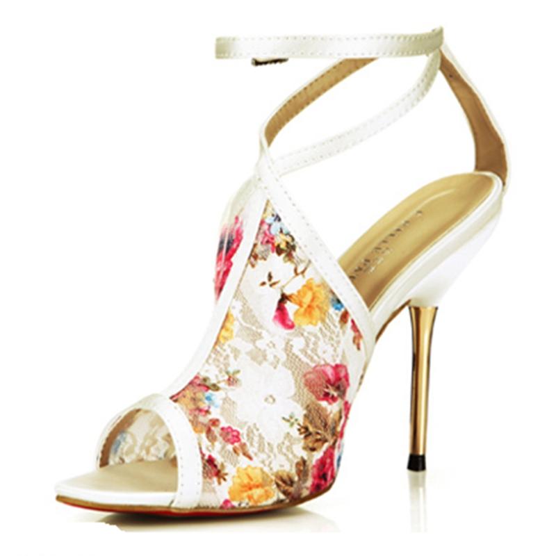 2016 Summer Brand Sandals For Women Sexy High Heel Women Shoes Summer Plus Size 35-43 Peep Toe Shoes Sandals Woman Elegant TA228(China (Mainland))