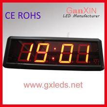2.3inch indoor red brightness countdown wall car led clock(China (Mainland))