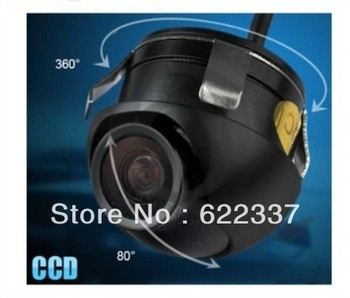 22.5mm 360 Ccd Car Vehicle Rear View Side/ Front Camera Back Up Spy Mini Cam Wide 120