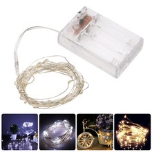 Buy LED Starry String Lights 4M 40 LED Copper Wire Fairy String Light Party Christmas Holiday Wedding Decoration for $2.52 in AliExpress store