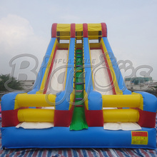 Commercial Inflatable Dry Slide PVC Double Lane Slip For Play Centre(China (Mainland))