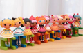 2014 New free shipping 8 pcs/lot mini Lalaloopsy origina dolls 8 CM, girls/baby/kind favorite gift , play house toys