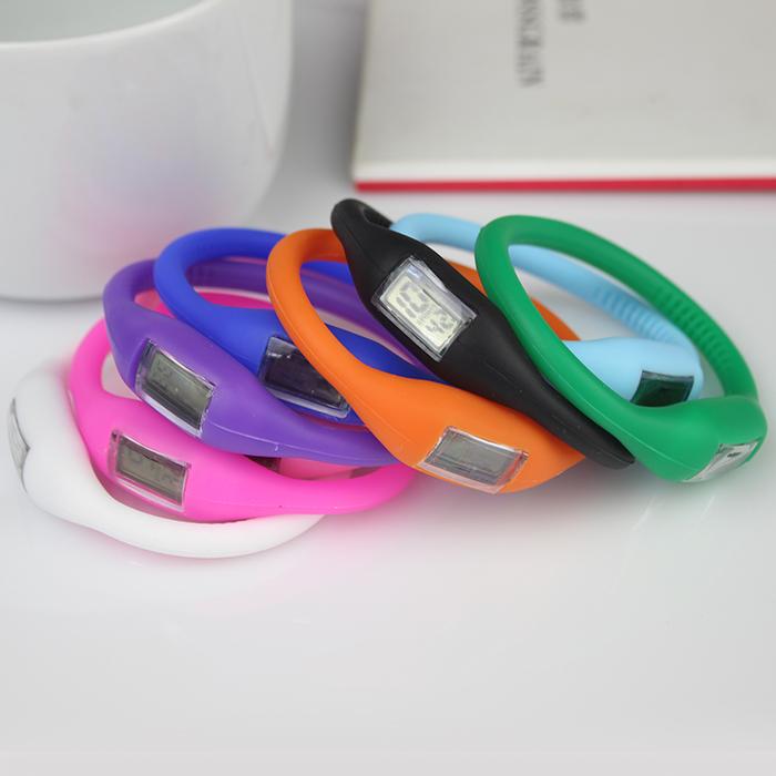 [ Special Offer ] New anion silicone waterproof sports digital watch gift for fashion men women wrist quartz watch(China (Mainland))