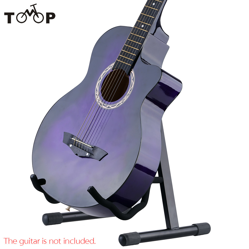 High Quality Andoer GS-E03 Folding A-Shaped Guitar Stand Holder for Acoustic Electric Guitar Bass Adjustable Width(China (Mainland))