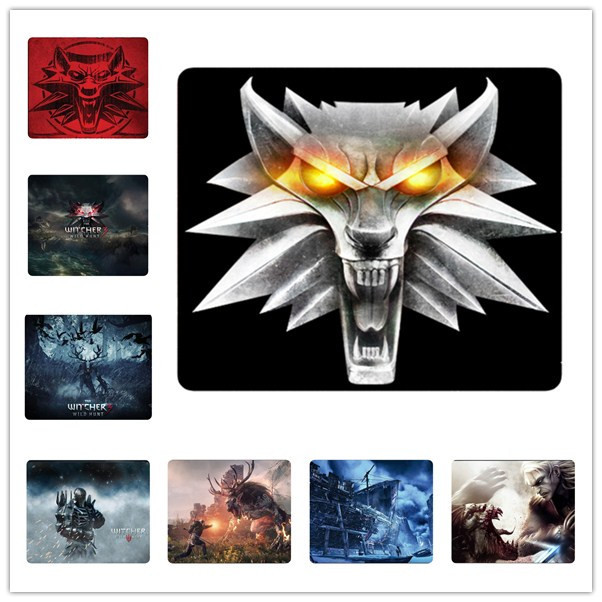 Hot Sale computer games mouse mat the witcher 3 wild hunt mouse pad gaming mousepad for dota2 lol cs go anime tapis de sourie(China (Mainland))