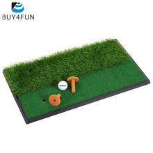 TOMSHOO Backyard Golf Mat Practice Rubber Tee Holder Grass Indoor Mini Golf Tee Golf Fairway Rough Turf Practice Training Mat(China (Mainland))
