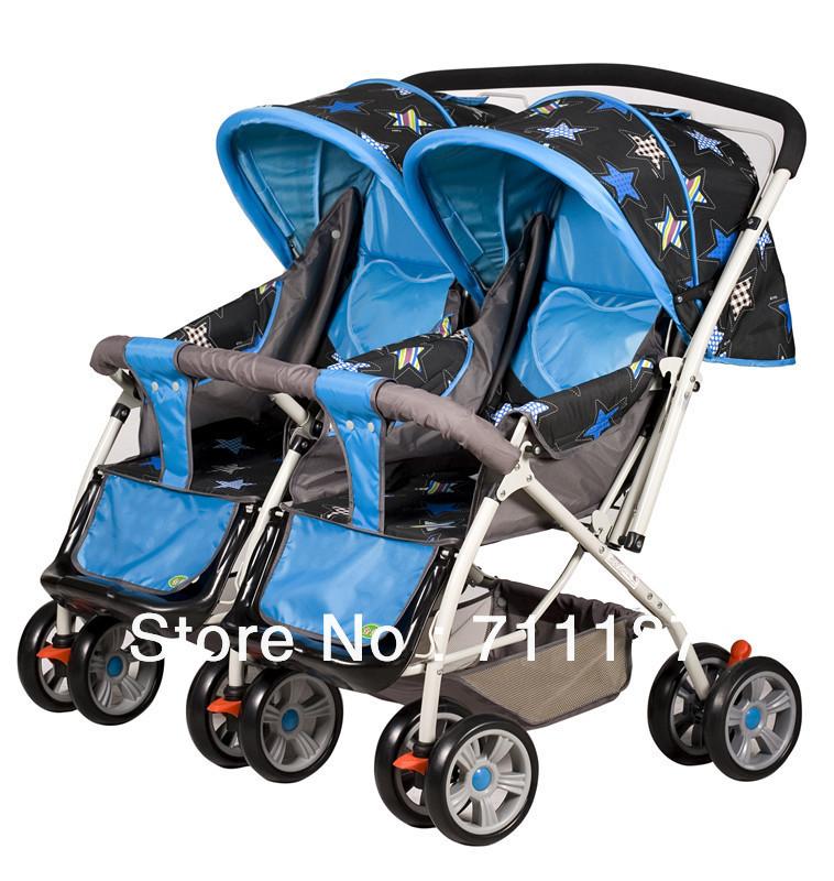 Cheap Twins Stroller For Kids,Lightweight Stroller Folding Umbrella Stroller High Quality(China (Mainland))
