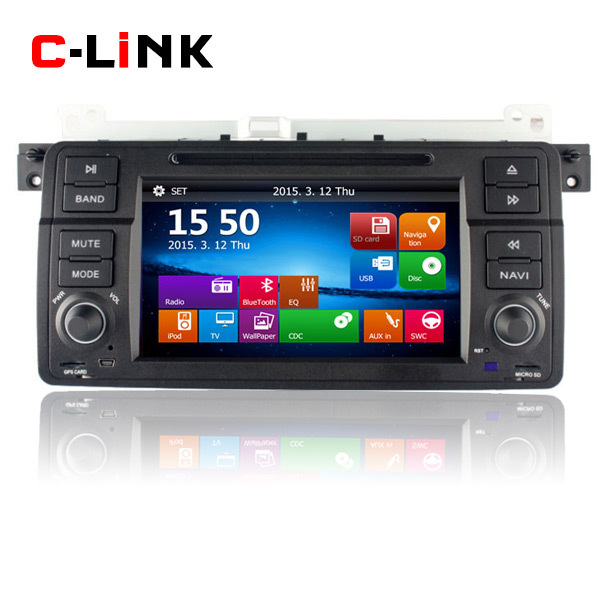"""1 Din 7"""" Touch Screen Car Stereo Radio For BMW 3 Series E46 M3 1998-2006 GPS Navigation Bluetooth Video CD MP4 MP3 Player(China (Mainland))"""