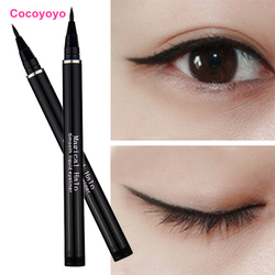 1 PCS New Women Lady Black Waterproof Liquid Eyeliner Pencil Pen Eye Liner Makeup Beauty Comestics Tools M01475
