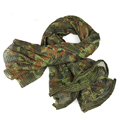 High Quality Multi Tactical Camouflage Scarf Army Scarf Veil Sniper Cover Neckerchief Hiking Scarves