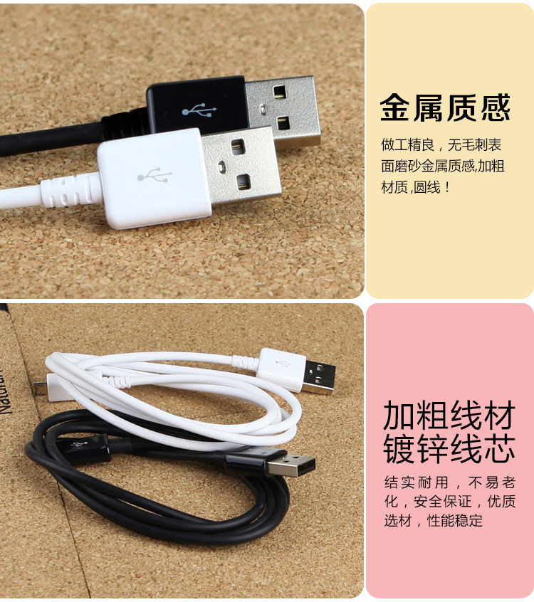 2m Micro USB Data Sync Charging Cable for Samsung Galaxy S2 S3 S4 HTC LG Sony Nokia Blackberry Charger Adapter free shipping(China (Mainland))