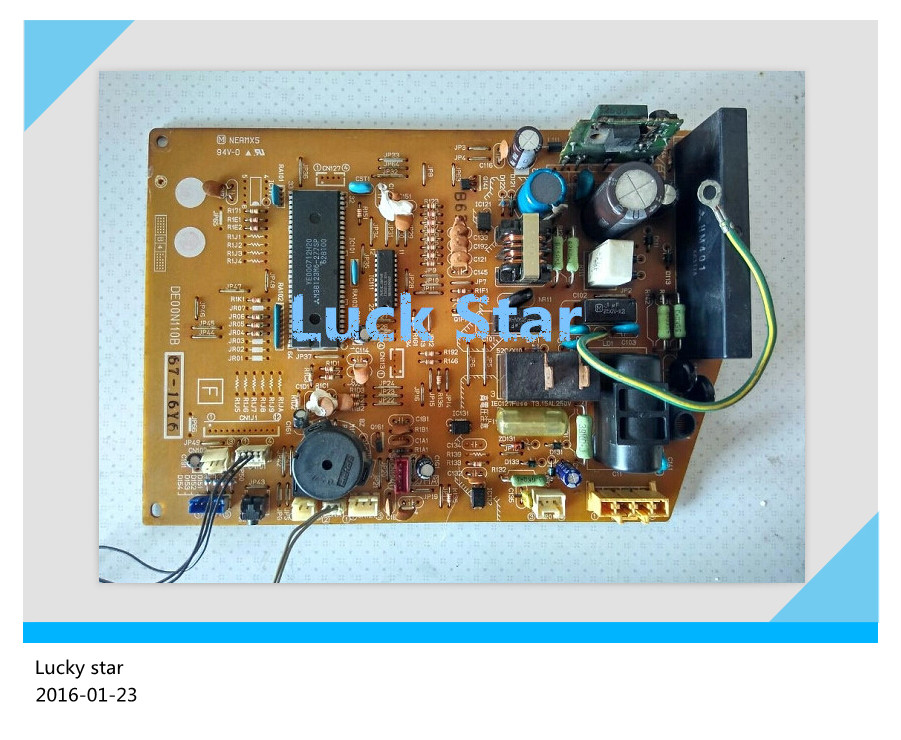 95% new for Mitsubishi Air conditioning computer board circuit board DE00N110B SE76A628G03 good working   <br><br>Aliexpress