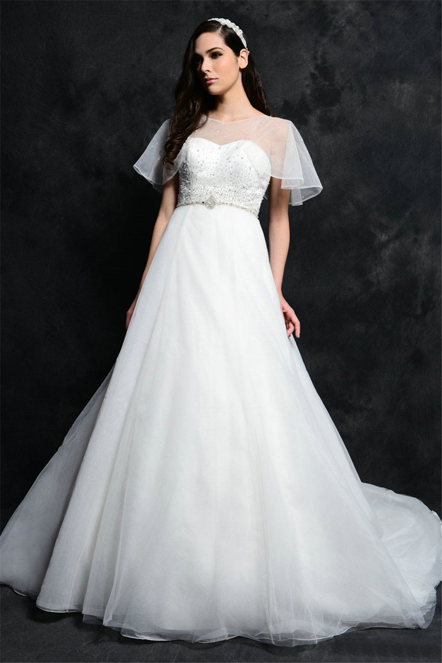Romantic beaded long china wedding dresses 2015 cheap for Wedding dresses boston cheap