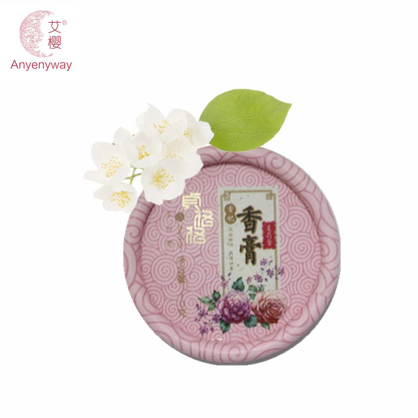 perfumes 100% original women parfum Hot Feminino Perfumes Jasmine Fragrance for Women Deodorant Solid Balsam Skin Care Beauty(China (Mainland))