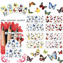 FREE SHIPPING 1 PCS NAIL ART NAIL TATTOOS STICKER
