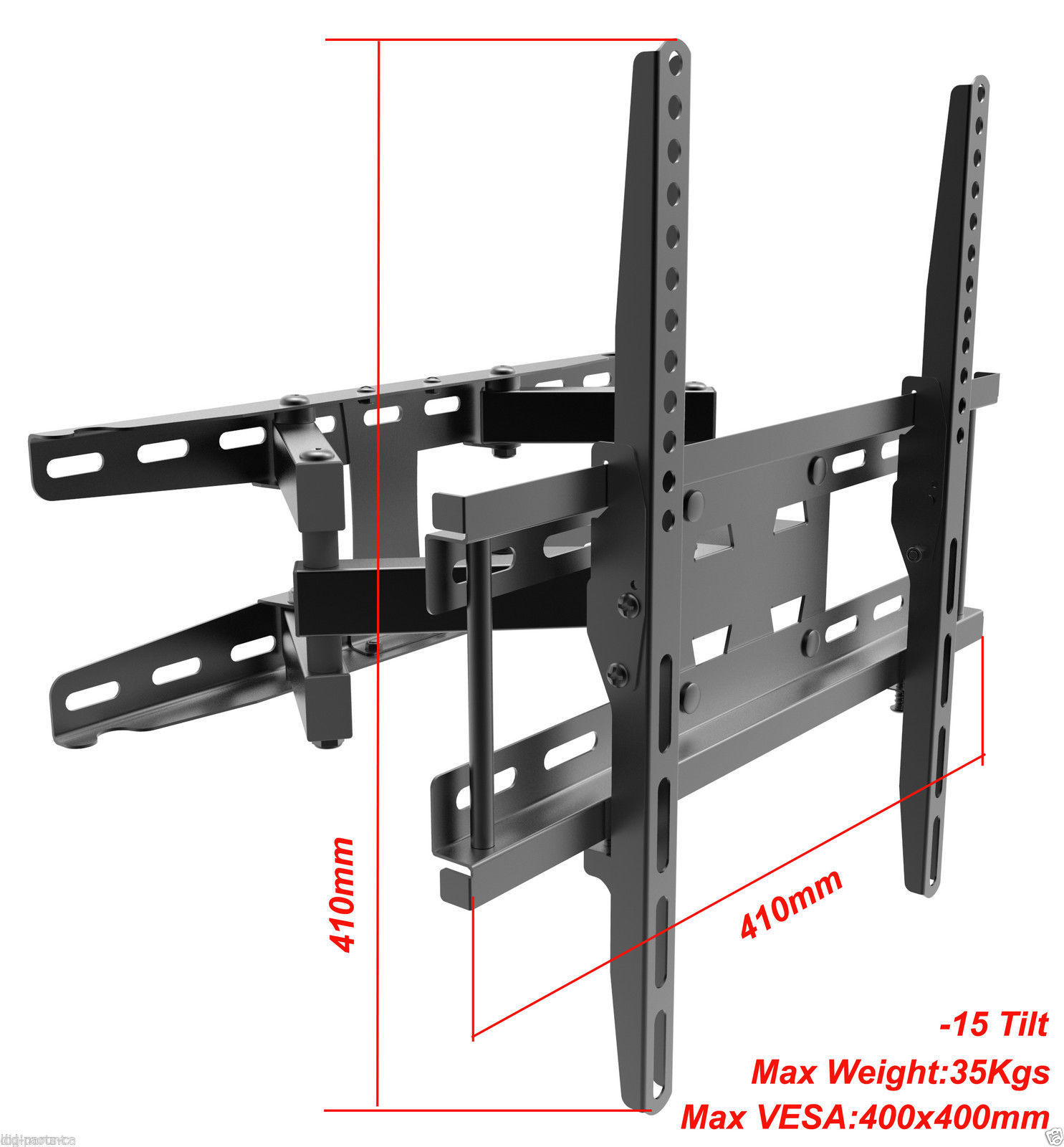 Здесь можно купить  Universal Television Wall Hanger LCD LED Plasma Rotating Arm TV Mount Bracket VESA 420X410 Size 120 Tilt Swivel AE107CK1DE Universal Television Wall Hanger LCD LED Plasma Rotating Arm TV Mount Bracket VESA 420X410 Size 120 Tilt Swivel AE107CK1DE Бытовая электроника