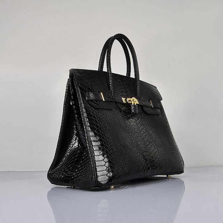 2015 new european and american lady serpentine cowhide with lock closure top-handle boston tote bag NO.6089-snake(China (Mainland))