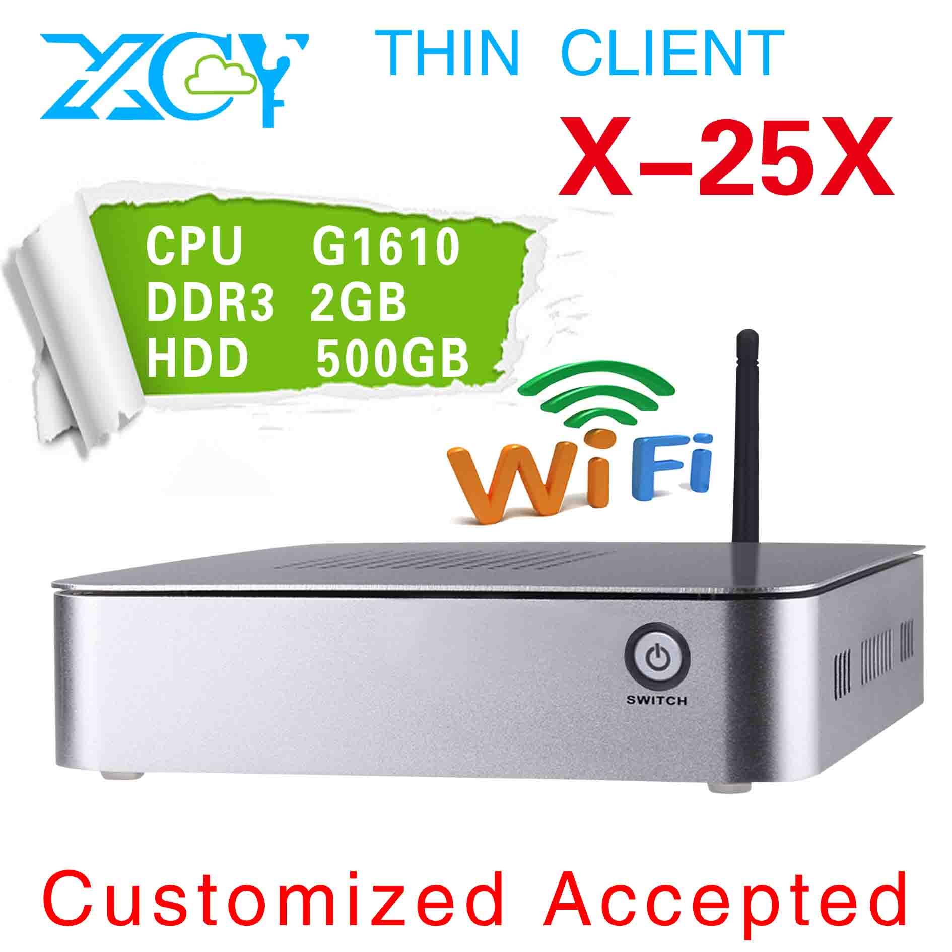 XCY X-25X pc station linux Multimedia Ncomputing OS Supported WIN7, Linux, Windows 95, Windows 98, etc.(China (Mainland))