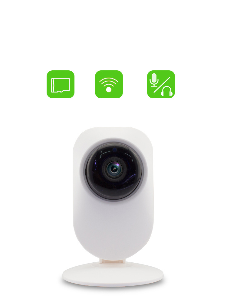 720P HD A5 WiFi Wireless IP Camera Two Way Audio Home Security Network Camera Plug Play iPhone Mobile View Setup(China (Mainland))