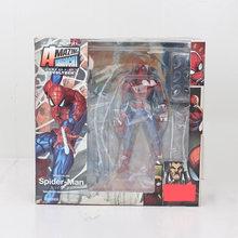 14-16cm Série Avengers Marvel Brinquedos Revoltech Endgame Venom Wolverine Deadpool Superhero Spiderman Carnificina Figma Modelo Boneca(China)