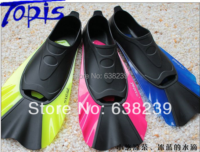 High Quality TOPIS Brand Snorkeling& Diving Fins Diving ...