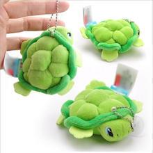 2016 Free shipping Nano super cute little Sea turtle pendant toy doll Ocean Series Plush Toys Dolls 2pcs/set