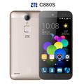 Original ZTE C880S Metal Body Android 5 1 Mobile Phone MTK6735 Quad Core Dual SIM FDD