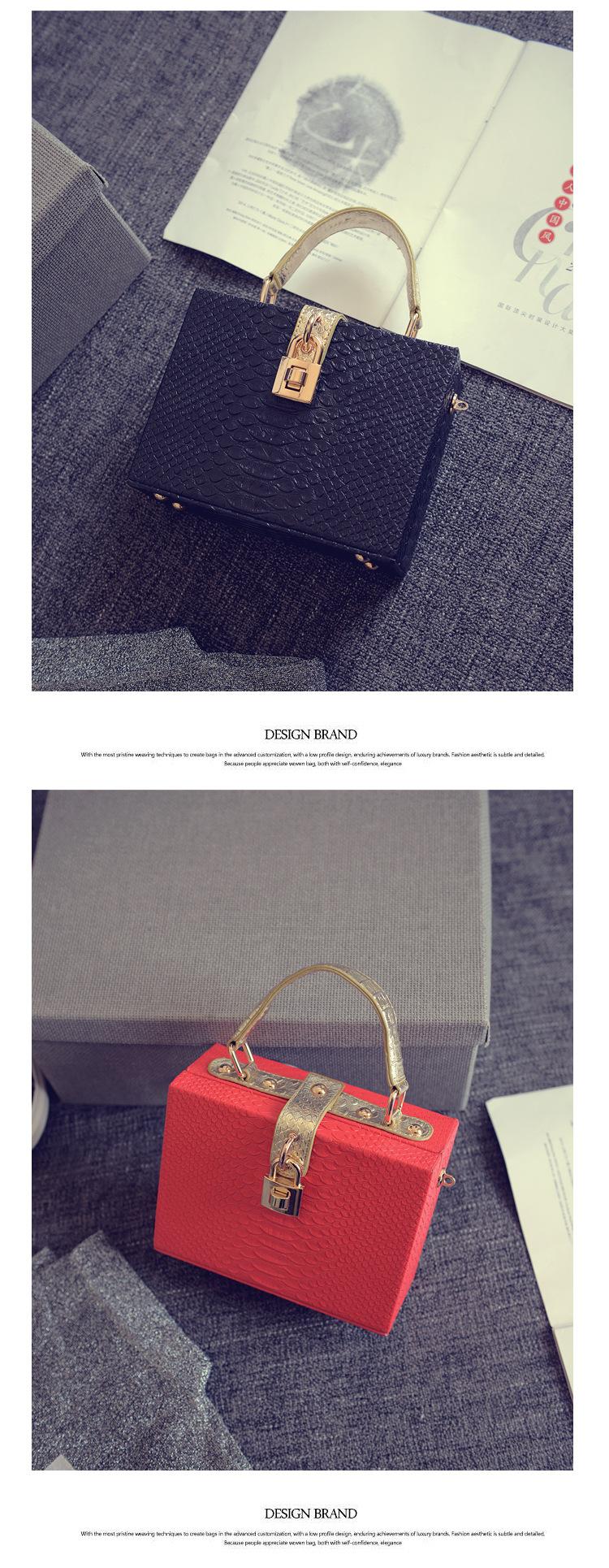 Women's European and American Style Handbags 2016 New Lady Messenger bag Shoulder Bags PU Leather Handbags Crossbody bag