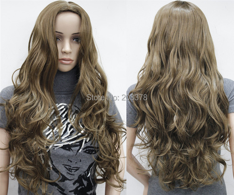Buy New Sexy Womens Girls Fashion Style Wavy Curly Long Hair Human Full Wigs