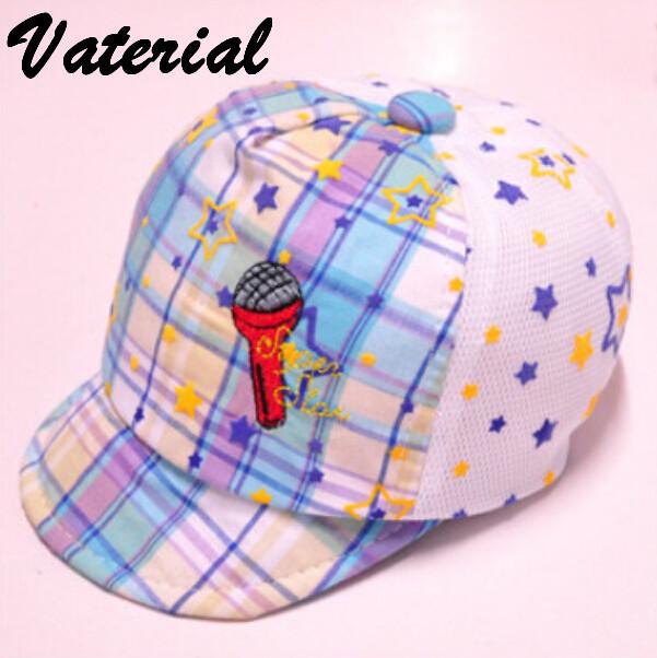 New pattern baby soft baseball cap good sound peaked cap VD0737(China (Mainland))