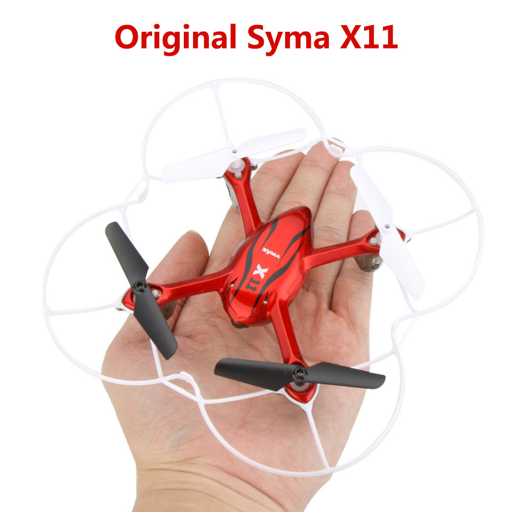 syma x11 drone without camera remote controlled toys 4CH 2.4GHz 6-Axis Gyro 3 colors with LED light drone helicopter quadcopter