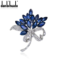 New high quality crystal brooches brooch jewelry floral jewelry accessories zircon wedding party gifts