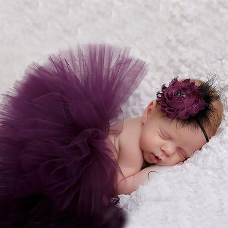 Sweet Simplicity Tutu And Tiara Set Stunning Unique Newborn Photo Prop And Halloween Costume Baby Tutus 1 Set TS026<br><br>Aliexpress