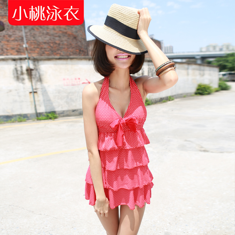 Dress off swimming suit