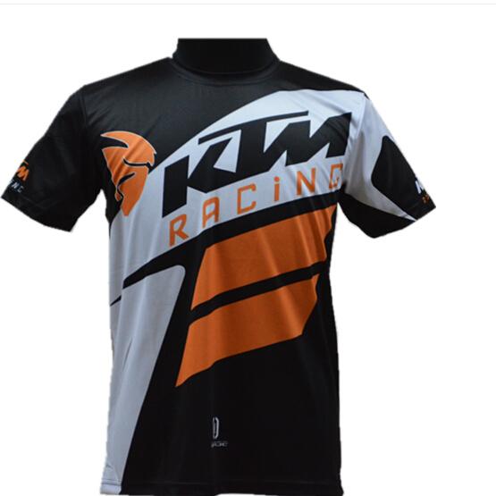 ktm t shirt motocross racing tshirt moto motocross trail enduro cyclisme vtt ebay. Black Bedroom Furniture Sets. Home Design Ideas