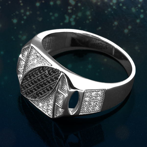 Pure Silver Rings For Men Silver Men Ring Ir0917