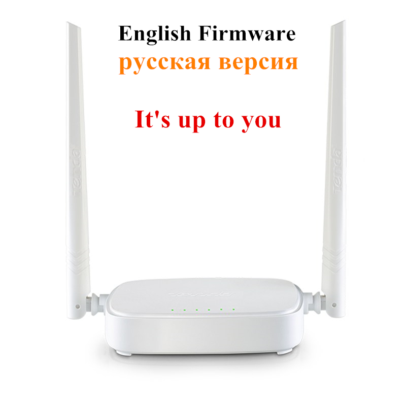 English or Russian Version Tenda Router Wireless N301 Wi-fi Router 300Mbps 802.11 b/g/n/3/3u Signal Booster 4 Ports Router(China (Mainland))