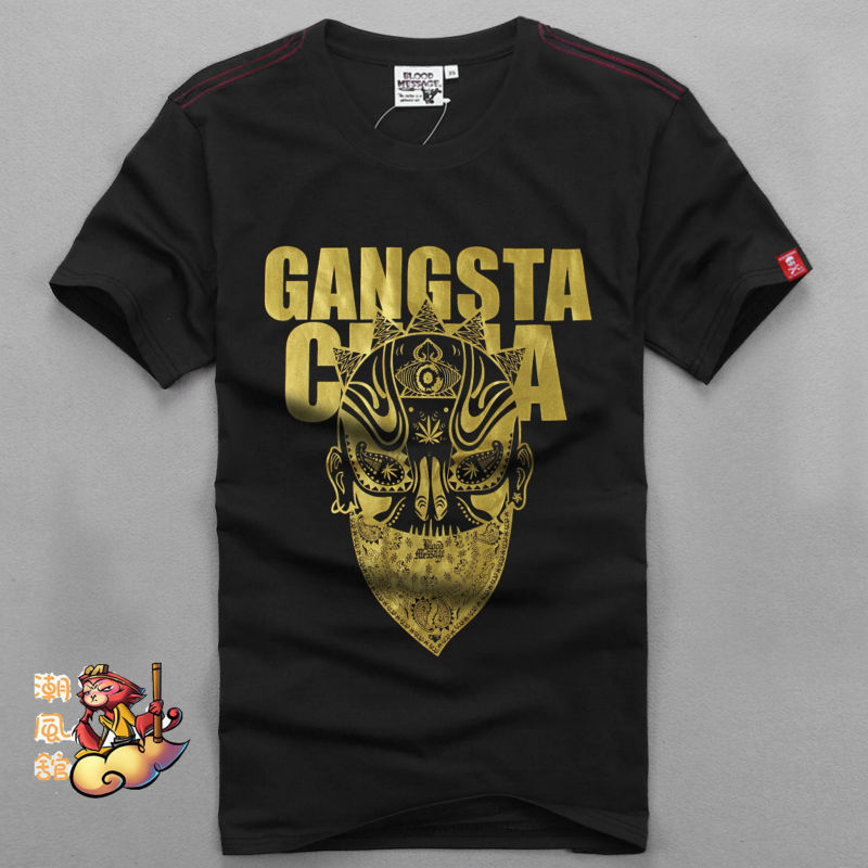 BLOOD MESSAGE T shirt New Fashion Marvel t-shirt Men Summer Short Sleeve Mens shirts 2014 Casual Camiseta Tops 3XL,4XL - TED clothes shop store