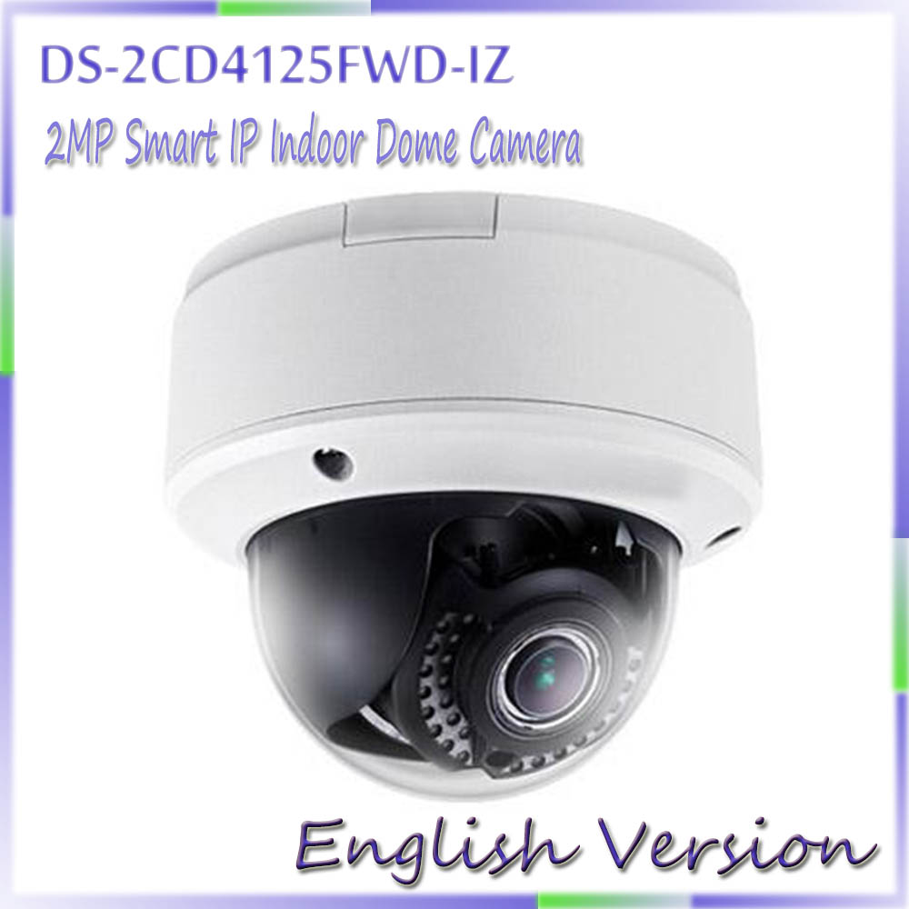 Здесь продается  Hot Sale English Version DS-2CD4125FWD-IZ 2MP Smart IP Indoor Dome Camera Full HD1080p video Ultra-low light  Безопасность и защита