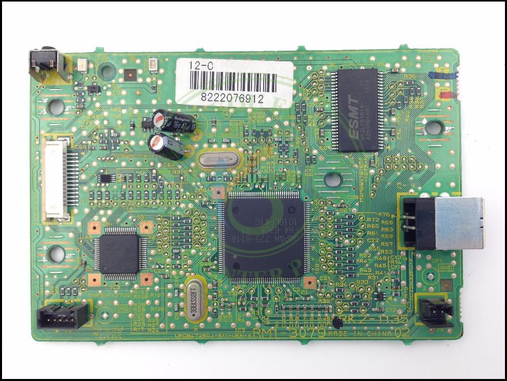 RM1-3126 RM1-3078 Formatter Board main logic board PCA ASSY MainBoard mother board for Canon LBP2900 LBP3000 LBP 2900 2900B 3000
