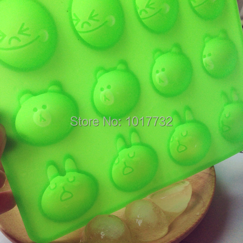 Home line cartoon ice cream tray mould cartoon ice cooking tools frozen ice cube tray popsicle molds maker(China (Mainland))